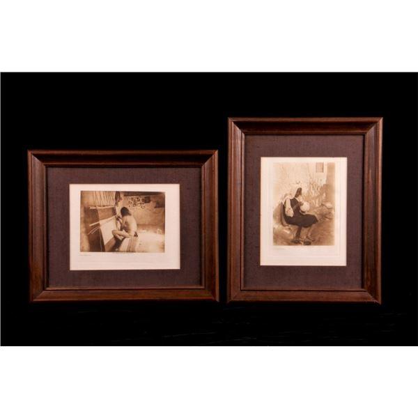 Pair of E. S. Curtis Native America Photographs