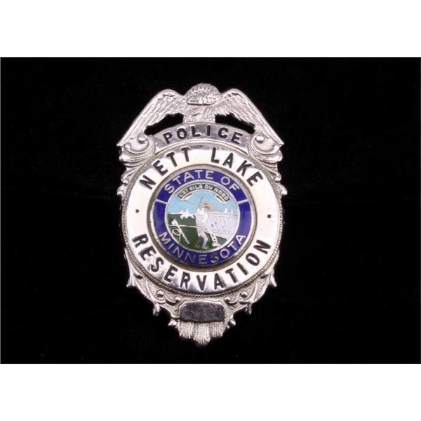 Nett Lake Reservation Police Badge Minnesota