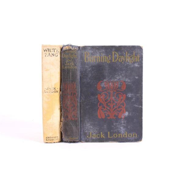 1st Ed White Fang & Burning Daylight by London