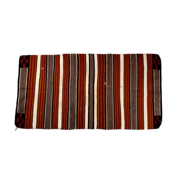 Navajo Banded Chinle Red Cross Rug c. 1930's