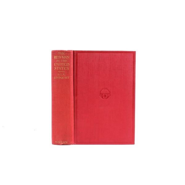 1923 1st Ed. The Red Man in the U.S. by Lindquist