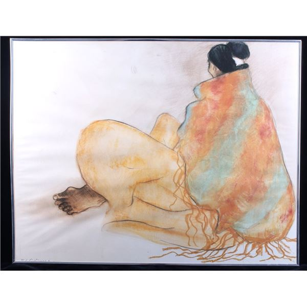 R. C. Gorman Navajo Woman Framed Print