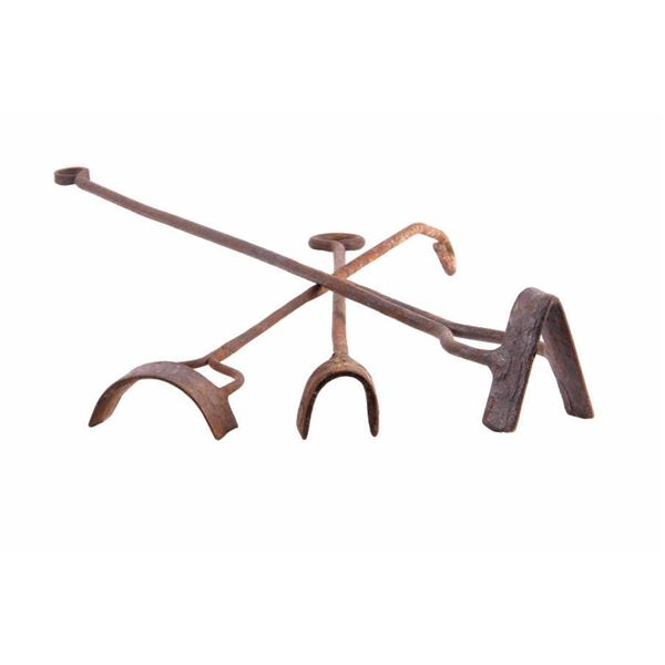 19th Century Montana Branding Iron Collection