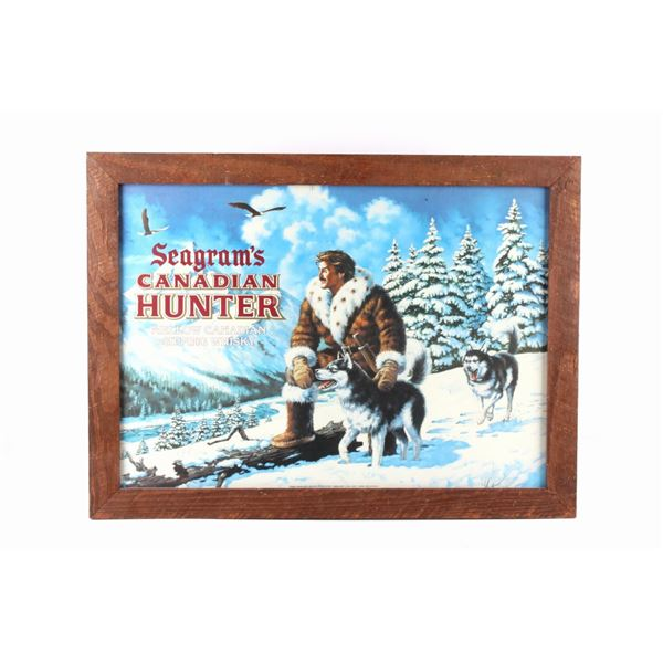 Seagram's Canadian Hunter  Whiskey Advertisement