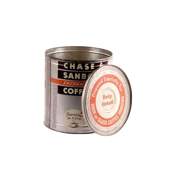 Vintage Chase and Sanborn Coffee Tin