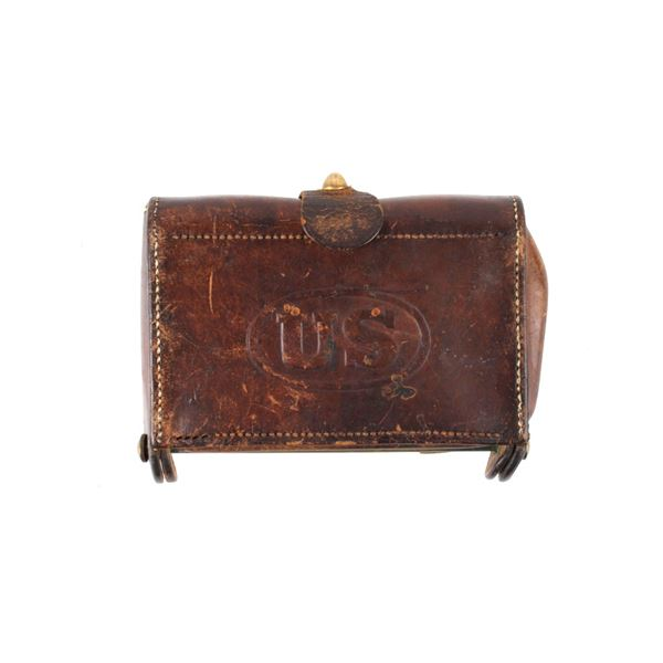 1904 Rock Island Arsenal Leather Cartridge Case