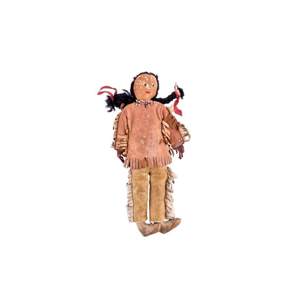 Plains Indian Skookum Doll circa 1950's