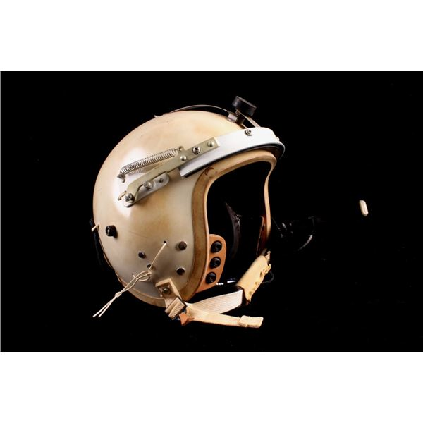 U.S. Air Force Fight Pilot Helmet White Model P-4A