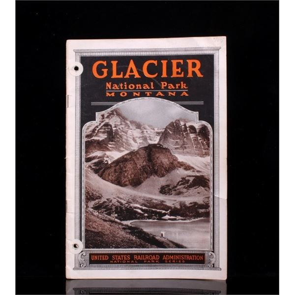 Glacier National Park Brochure & Info Pamphlet