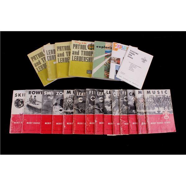 BSA Merit Badge Handbooks & Leadership Manuals