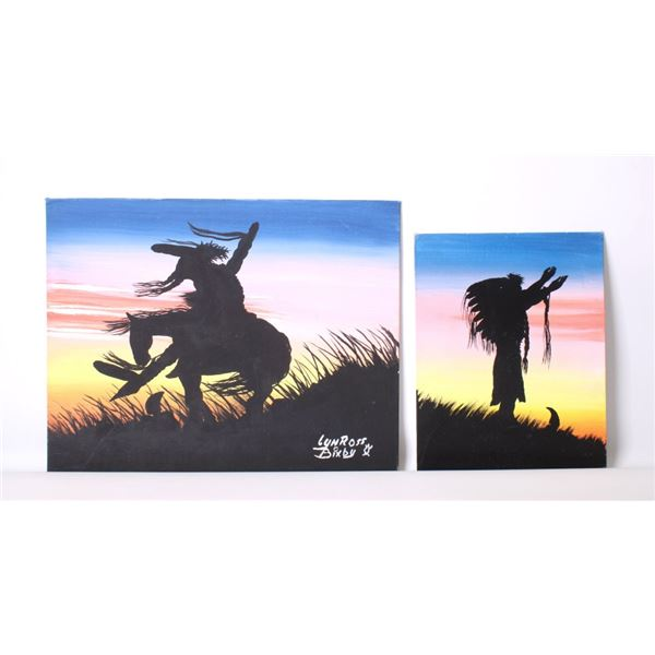Two Original Lyn Ross Bixby Oil Paintings