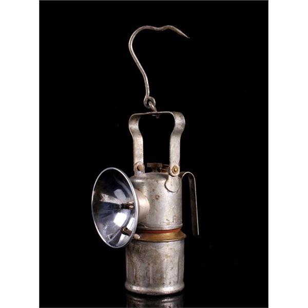 Miners Justrite Carbide Lantern circa 1940s-1950s