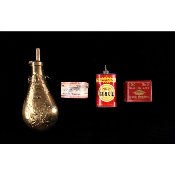 US Powder Flask & Firearm Maintenance Collection