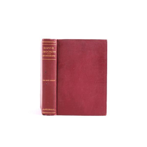 The Life of David Crockett Autobiography 1902