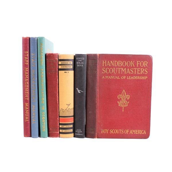 BSA Scoutmaster & Leadership Manuals/ Handbooks