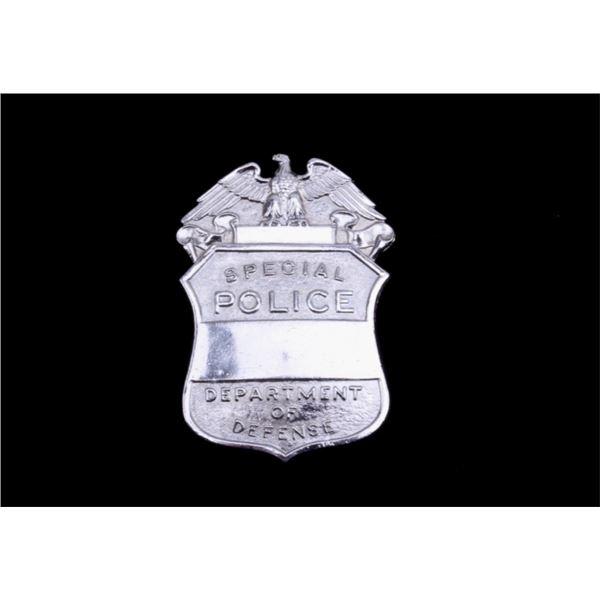Unused Department of Defense Special Police Badge