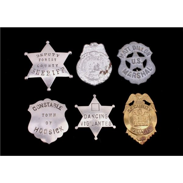 Collection of Variety Service & Prop Badges