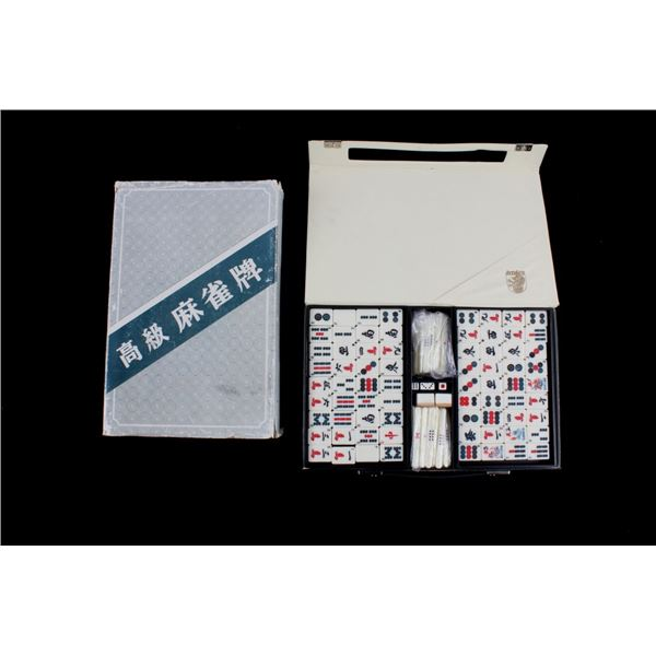 Dragon Mah-Jong 144 Tile Set w/ Carrying Case