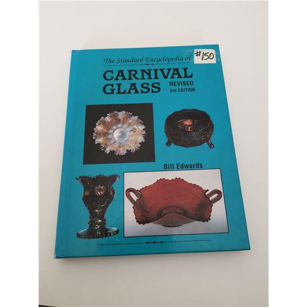 Resource book Encyclopedia of Carnival Glass, Bill Edwards, 1991                                   A