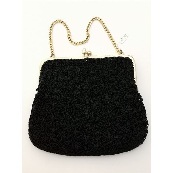 Beaded evening bag made by Artel, Montreal