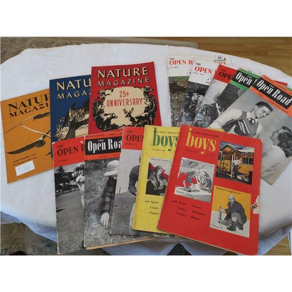 Lot of children's magazines. 1947-48