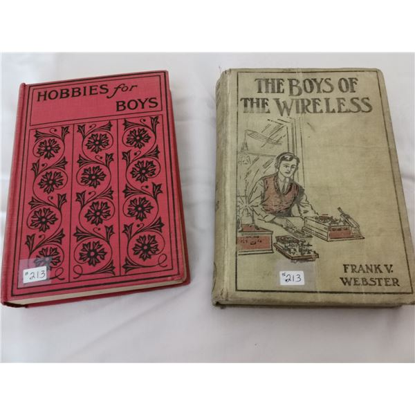 Hobbies for Boys (1928) and The Boys of the Wireless (1912)