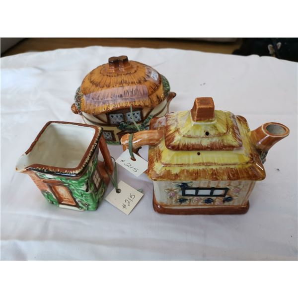 Lot of Cottage Ware (3)