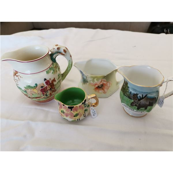 Lot of creamers (4)