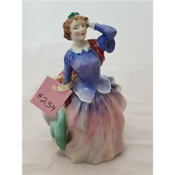 "Royal Doulton Figurine, ""Blithe Morning"", 7 ½"" tall"