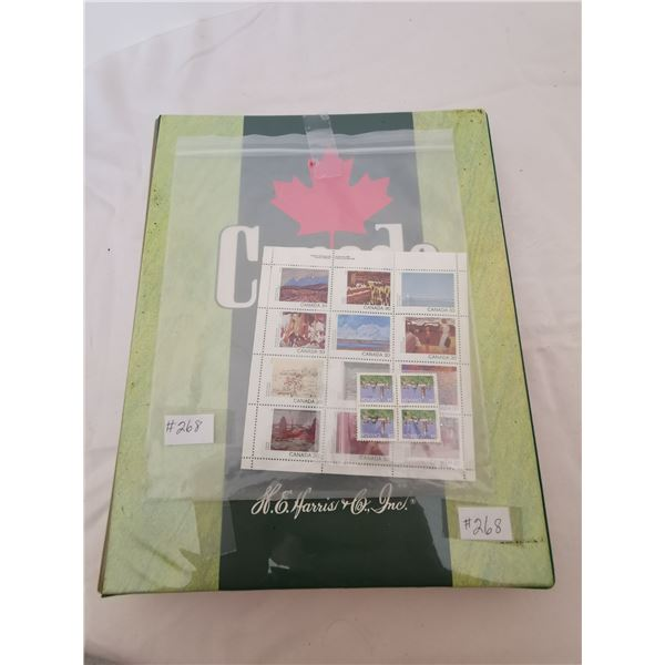 Canada and it's Provinces stamp album and stamps