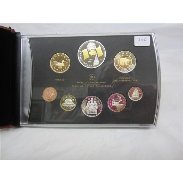 Canadian Proof Set 2005 most Coins are Sterling