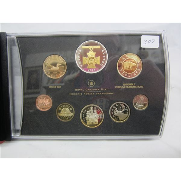 Canadian Proof Set 2006 most Coins are Sterling