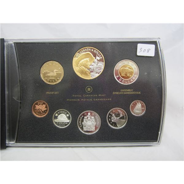 Canadian Proof Set 2008 most Coins are Sterling