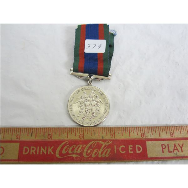 Canadian WW2 Voluntary Service Medal .925 Sterling Silver