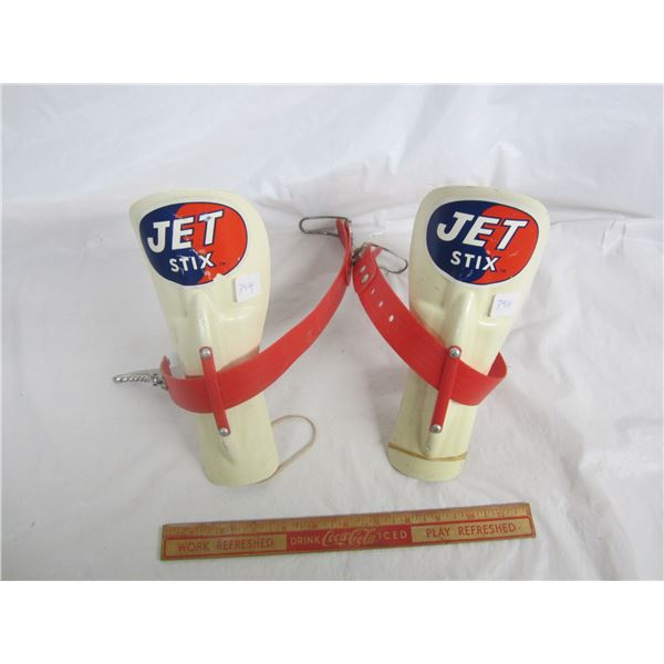 Jet Six rare Skiing accessories