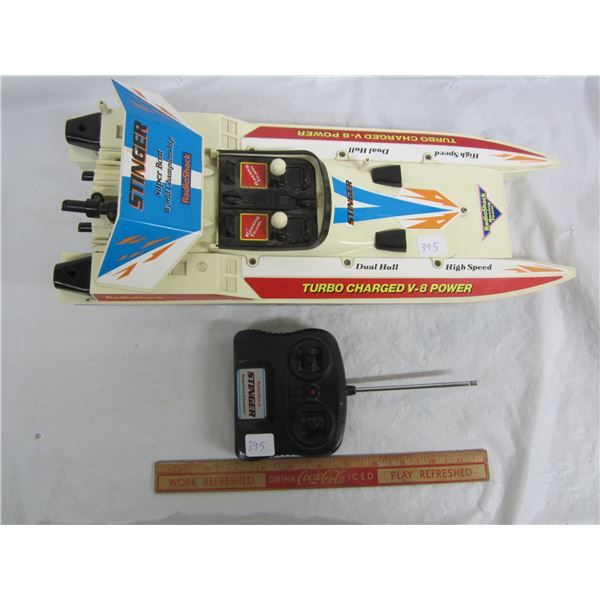 Stinger Remote Controlled Speed Boat