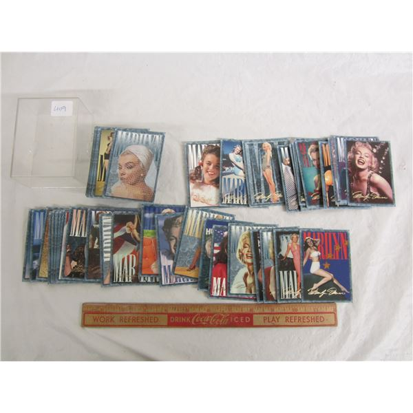 Complete Set of Marilyn Monroe Cards