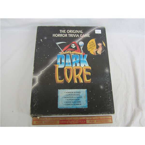 Vintage Dark Love Board Game