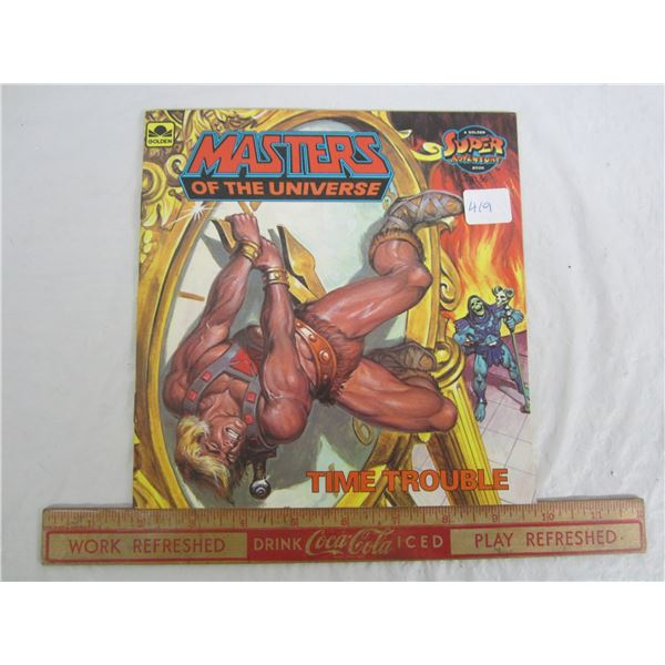 Masters of the Universe Super Adventure Book 1984