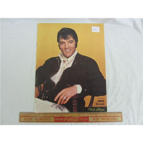 Rare Vintage RCA Records Elvis Photo Album