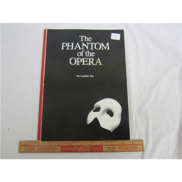 The Phantom of the Opera 1991-1992 Concert Program