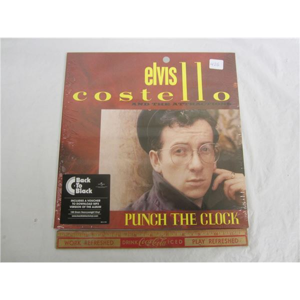 Elvis Costello Punch the Clock Factory Sealed LP