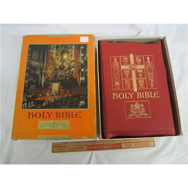 Vintage 1950's Bible