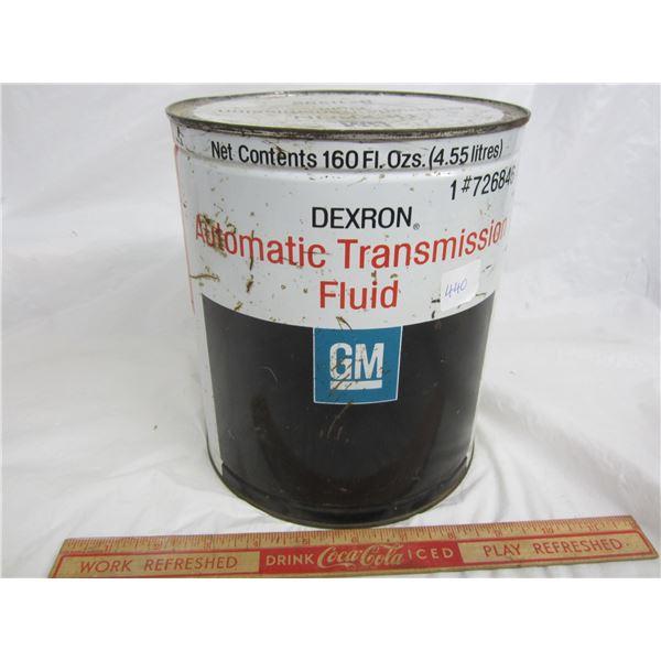 Vintage GM Dextron Transmission Fluid gallon factory sealed