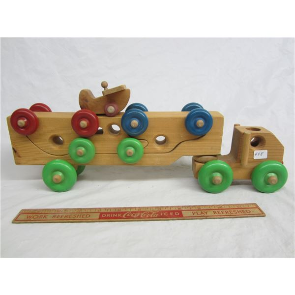 Lot of wooden toys Outlook ,Sk.
