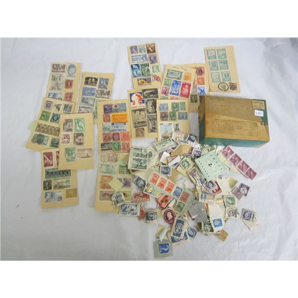 Box Lot of Stamps