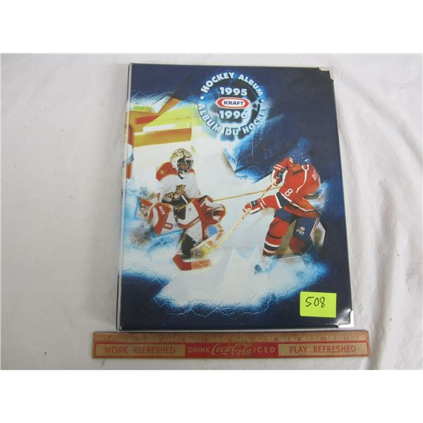 1995-1996 Kraft Hockey Cards in Factory Binder