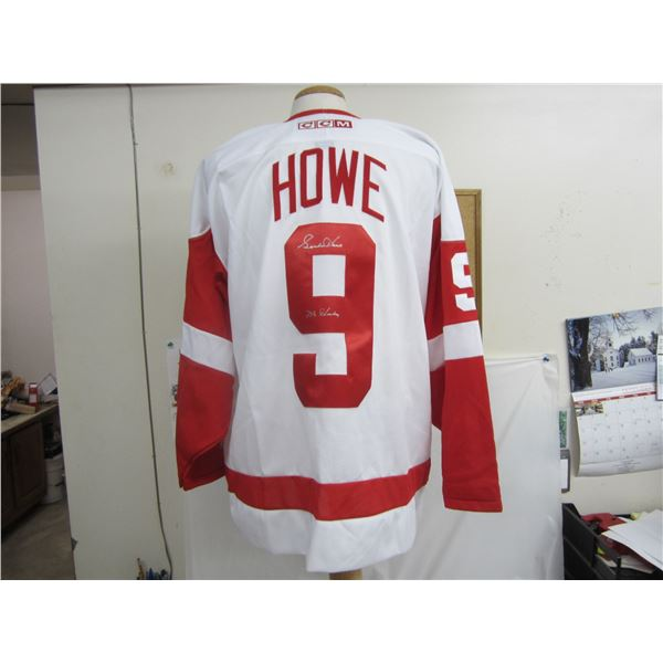 Mr. Hockey Gordie Howe Autographed Jersey with COA