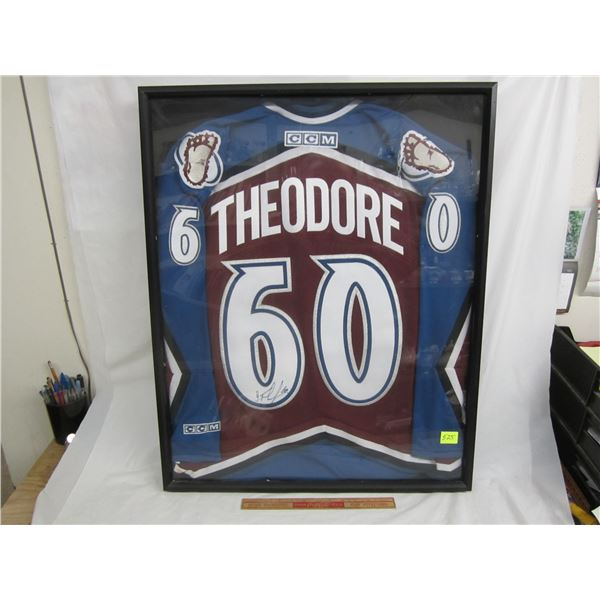 Jose Theodore Autographed Jersey with COA