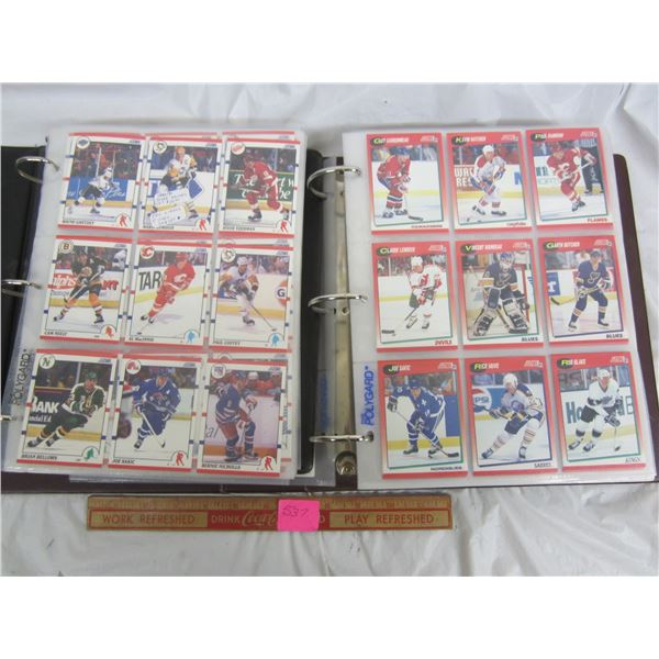 2 Complete Hockey Card sets of Score Hockey 1990-1991 and 1991-1992